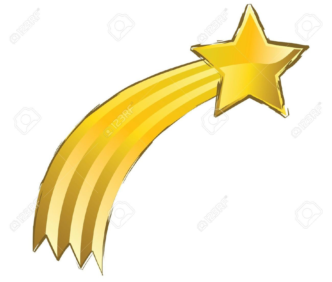 1300x1104 Shooting Star Clipart Tail Clipart