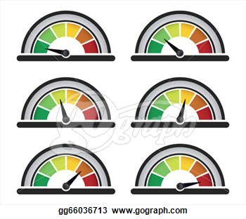 350x312 Dial Meter Clipart