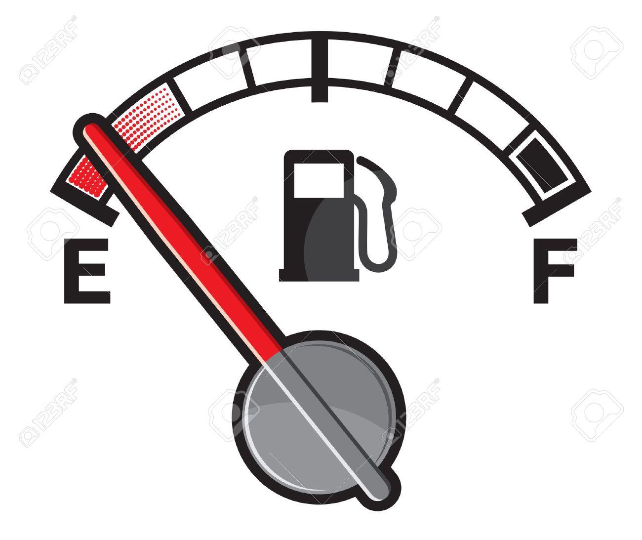 1300x1093 Fuel Gauge Clipart