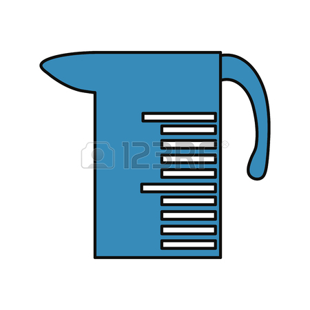 450x450 Meter Cup Icon Over White Background Illustration Royalty Free