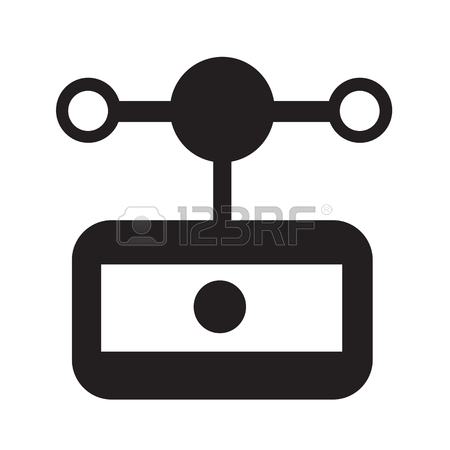 450x450 Anemometer Wind Meter Icon Illustration Design Royalty Free