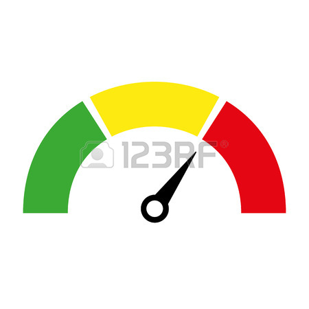 450x450 Speedometer Or Rating Meter Signs Infographic Gauge Element