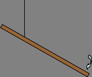 311x263 A Meterstick (L = 1 M) Has A Mass Of M = 0.248 Kg .