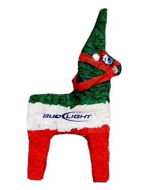 297x372 Bud Light Mexican Burro Pomotional Pinata