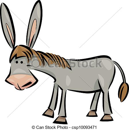 450x455 Burro Clipart Collection