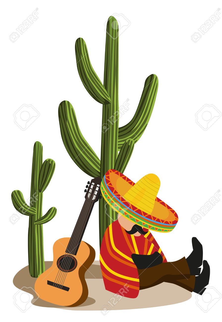 897x1300 Mexican Clipart Mexican Cactus Clipart