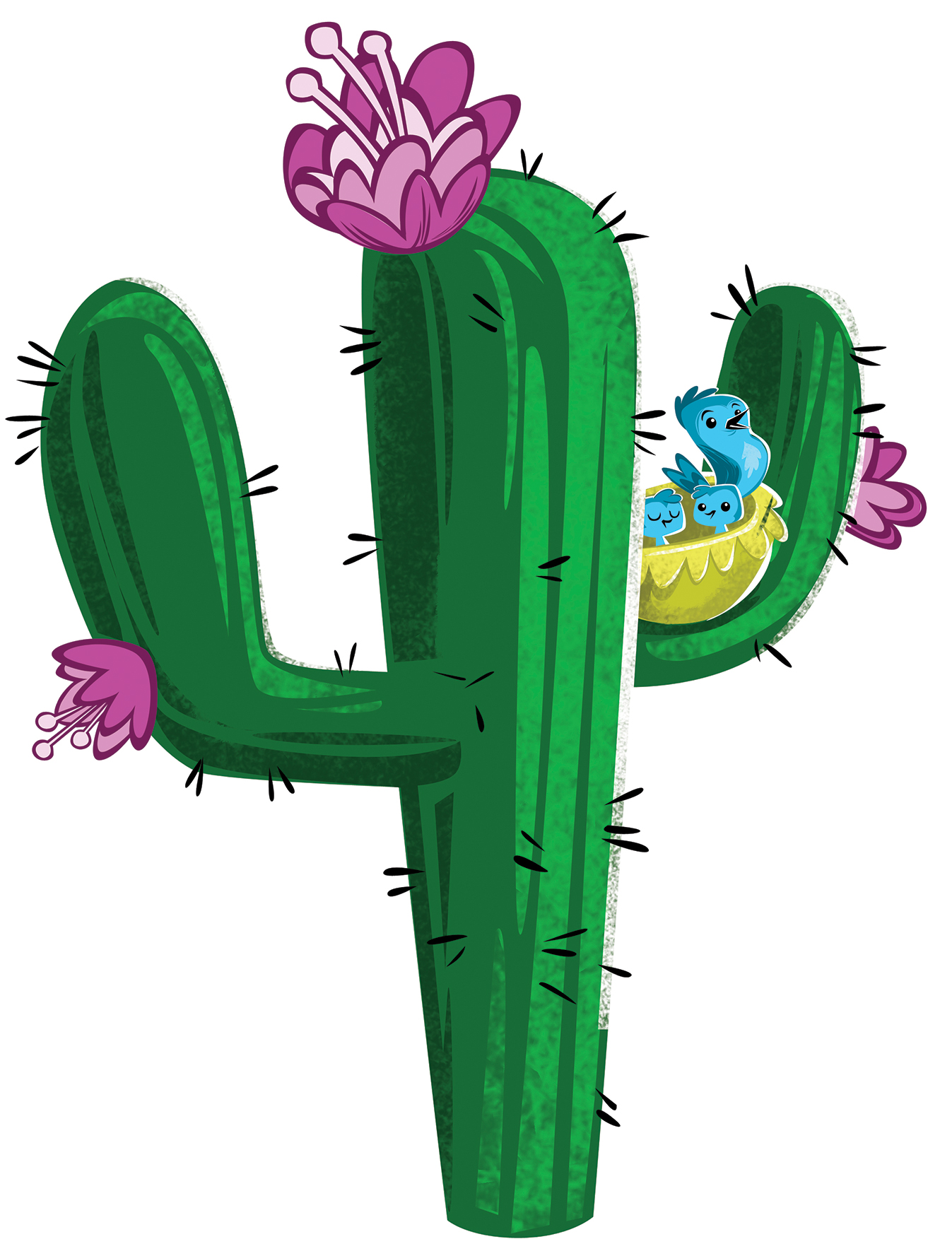 Cactus fiesta. Mexican clipart free download