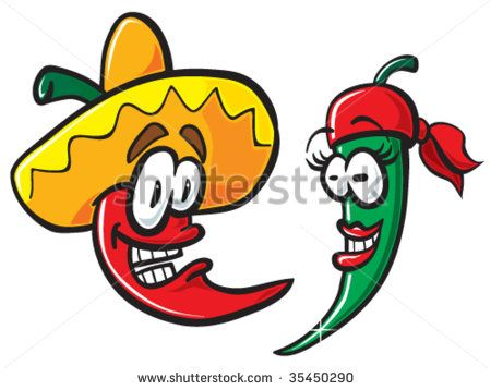 450x358 32 Best Chile Peppers Drawings Images Chile
