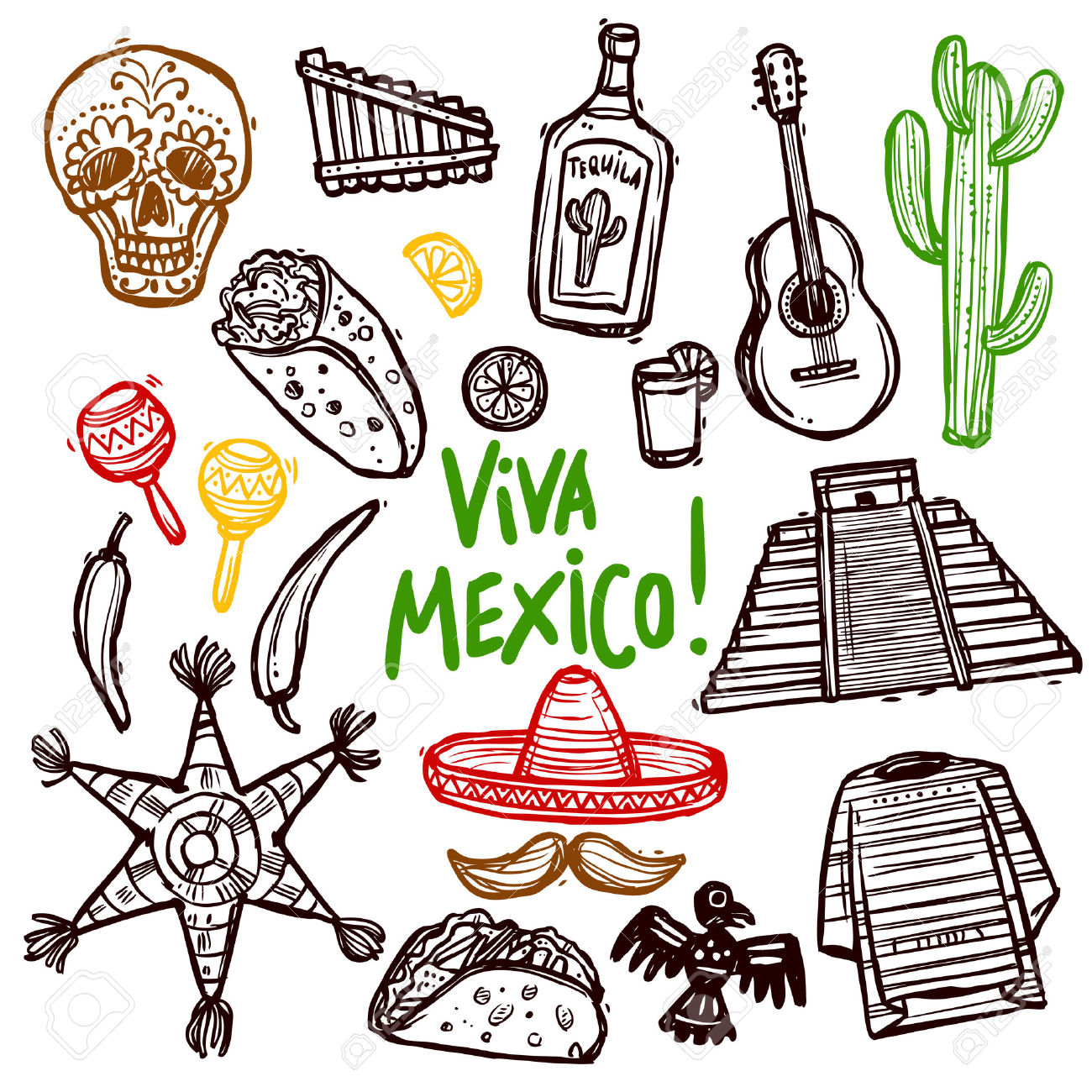 1300x1300 Mexican Culture Clipart