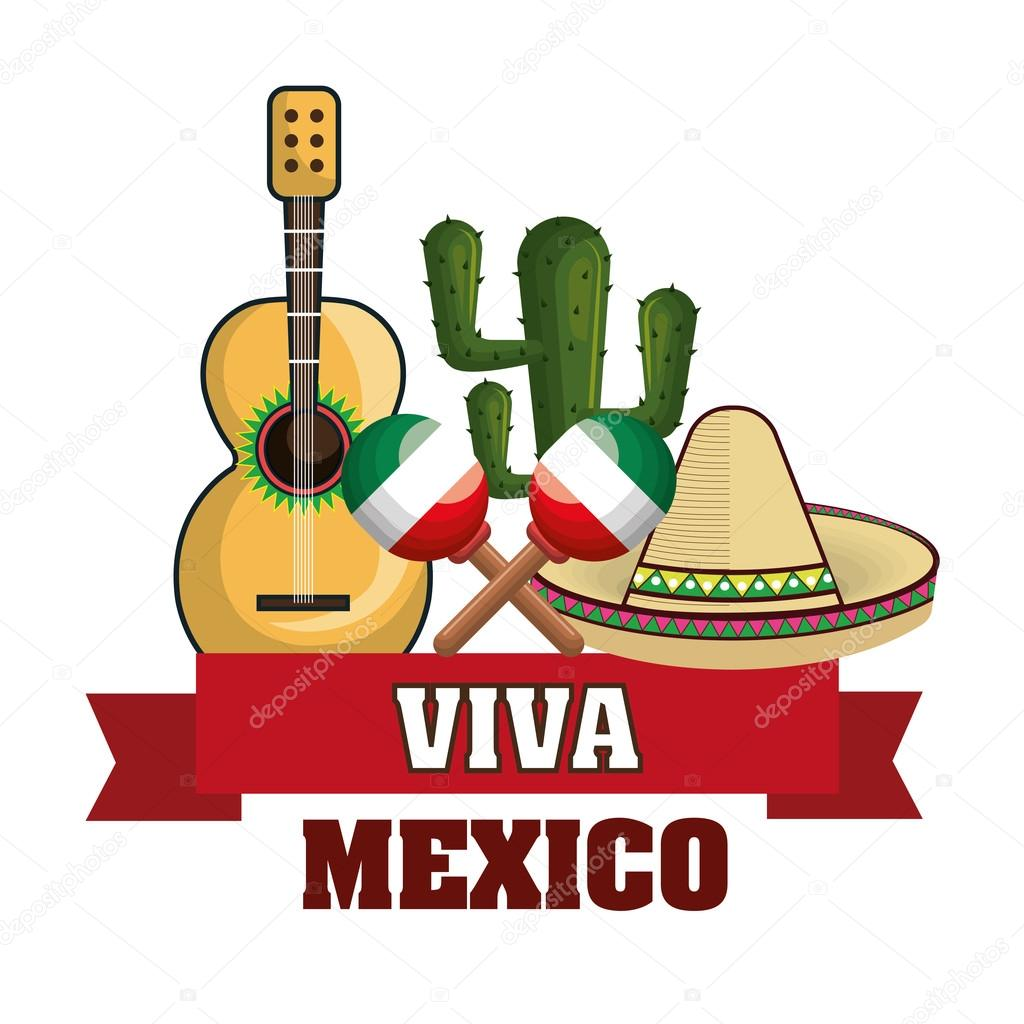 1024x1024 Mexican Culture Set Icons Isolated Stock Vector Yupiramos