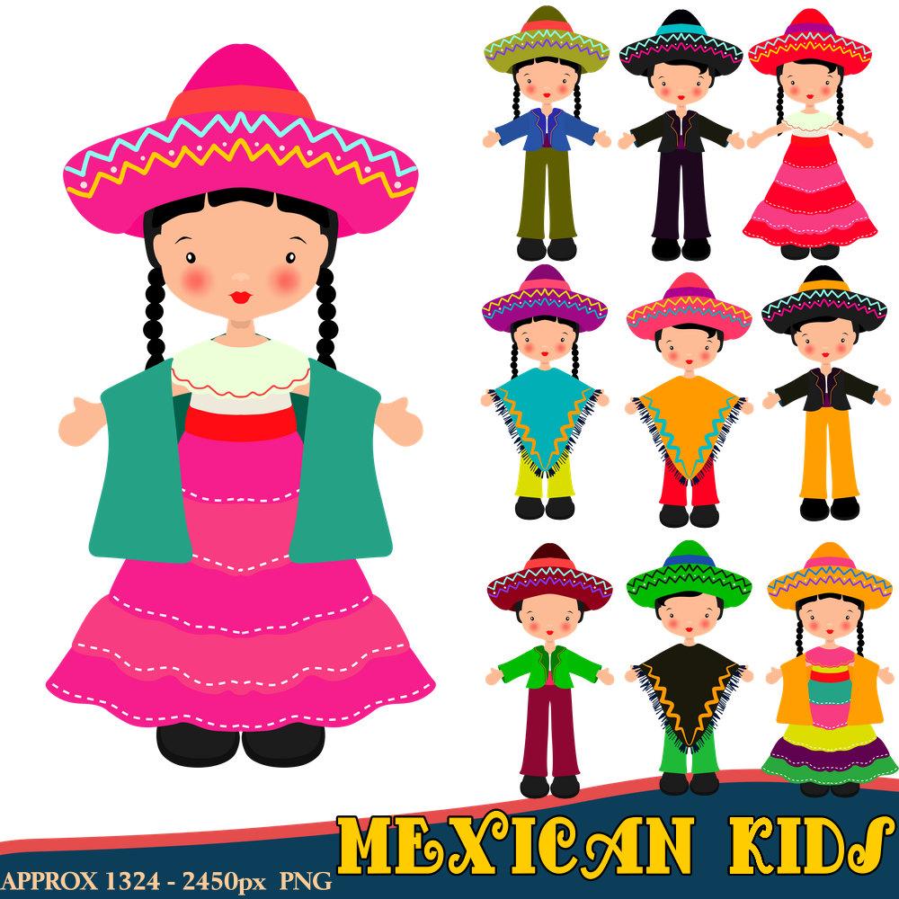 1000x1000 Mexican Clipart Children Clipart Fiesta Clipart Mexican