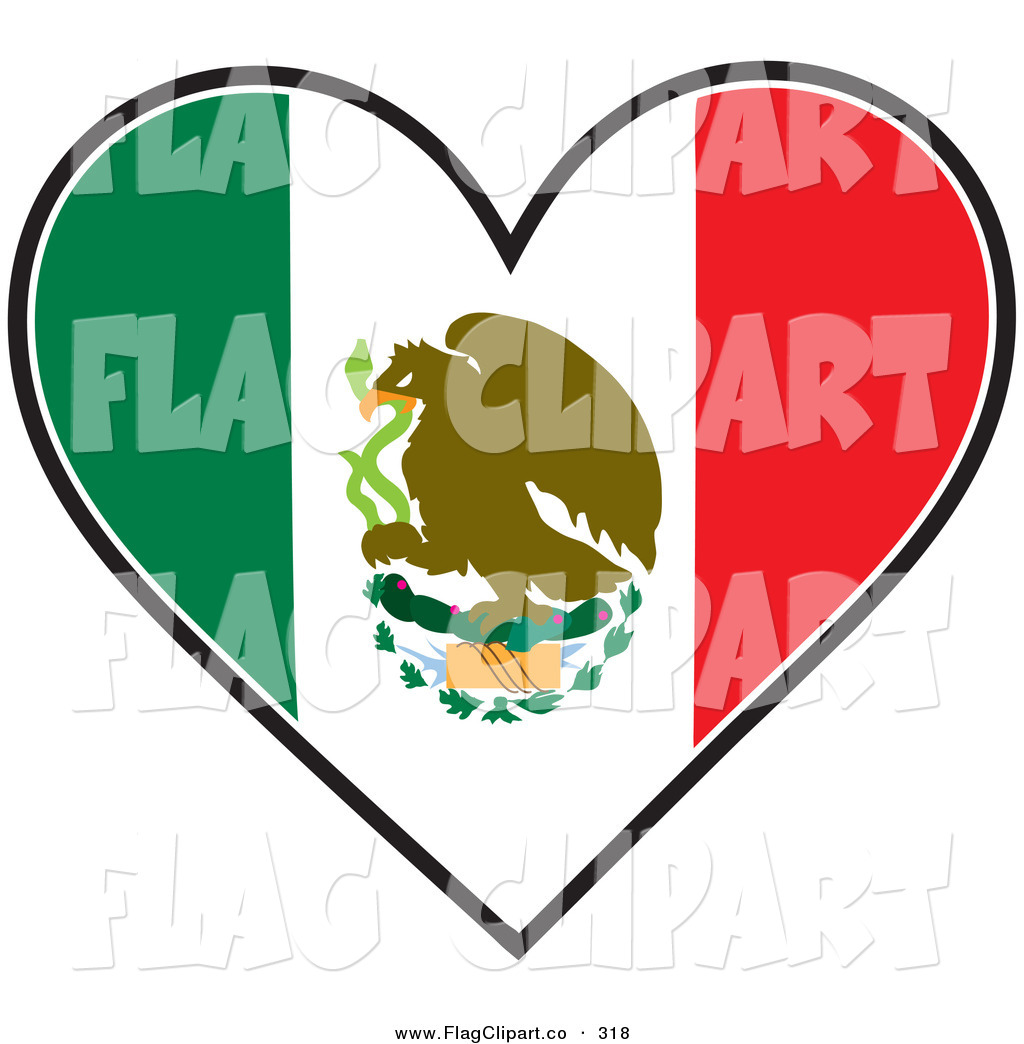 1024x1044 Mexican Flag Black And White Clipart