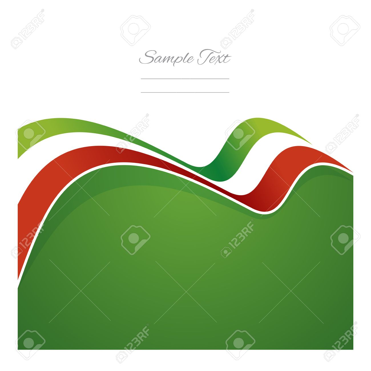 1300x1300 Mexico Abstract Flag Ribbon Vector Royalty Free Cliparts, Vectors