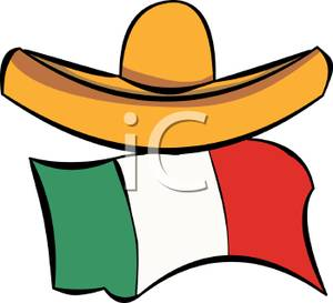 300x273 Sombrero And The Mexican Flag