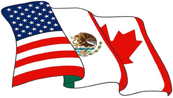 600x340 United States Mexico Flag Clipart