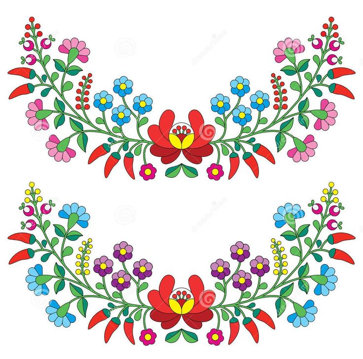 Mexican Flowers Clipart