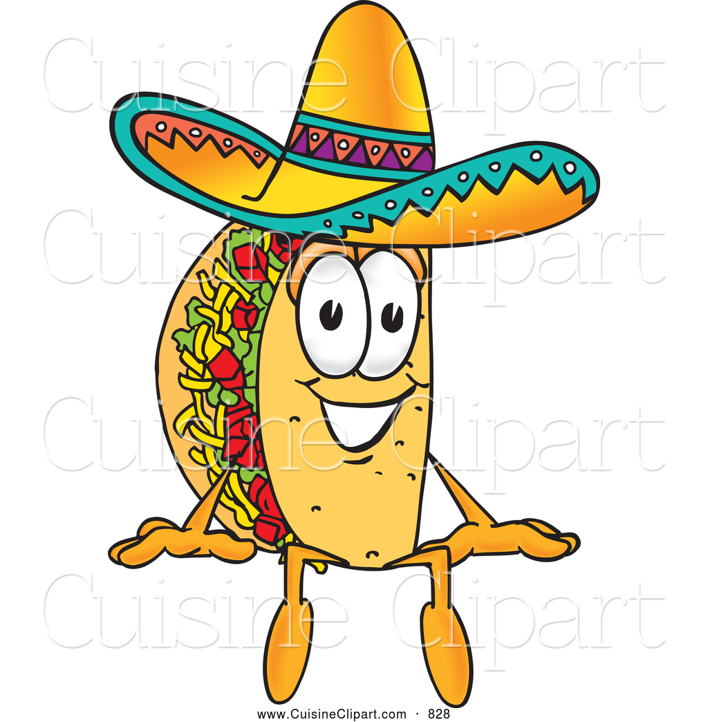 1024x1044 Taco Clipart Cartoon