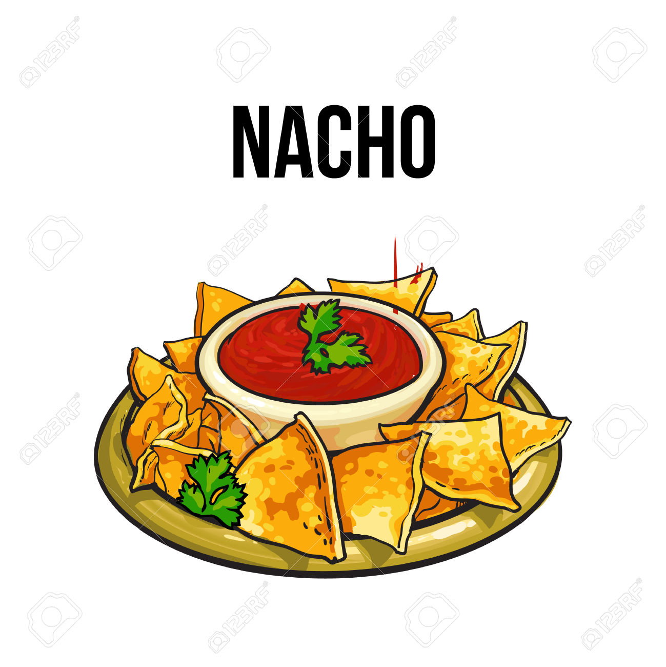 1299x1300 Tortilla Clipart Mexican Food