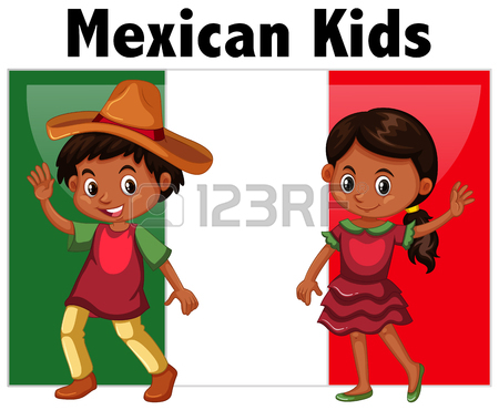 450x370 539 Mexican Boys Cliparts, Stock Vector And Royalty Free Mexican