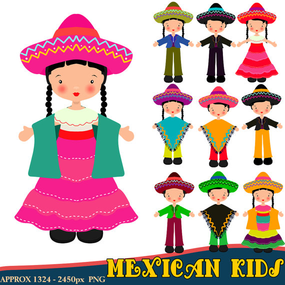 570x570 Mexican Clipart Children Clipart Fiesta Clipart Mexican