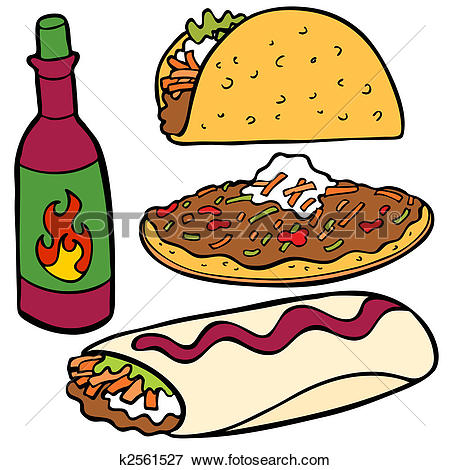450x470 Mexican Clipart Mexican Food Clipart