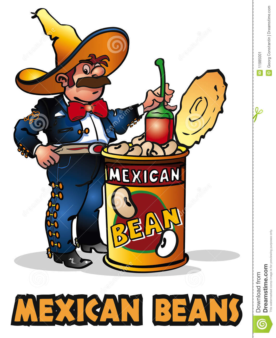 1062x1300 Mexican Bean Clipart