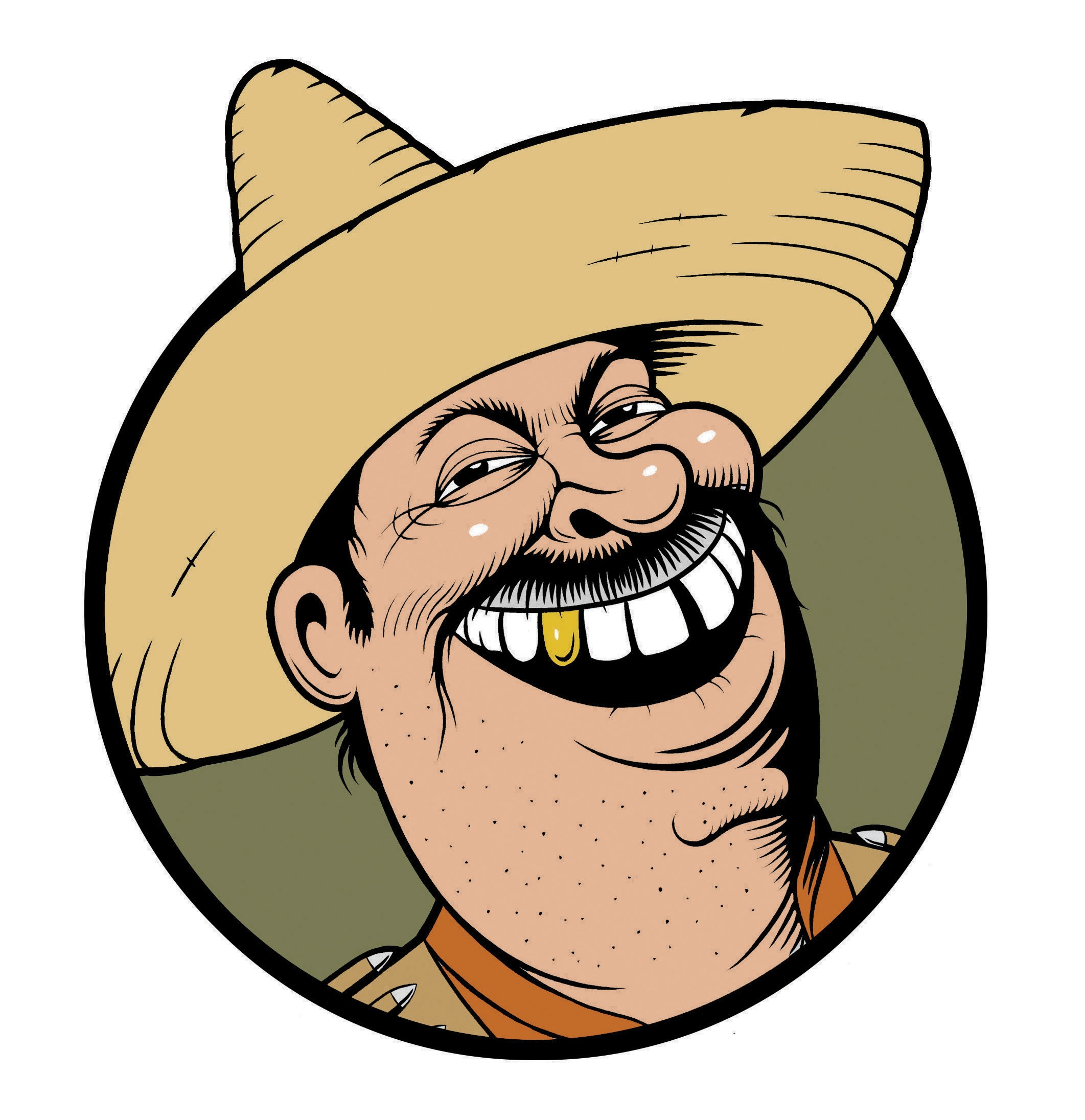 2123x2191 South America Clipart Mexican Man