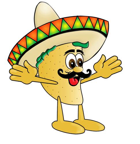 486x500 Taco Clip Art Taco Image Mexican