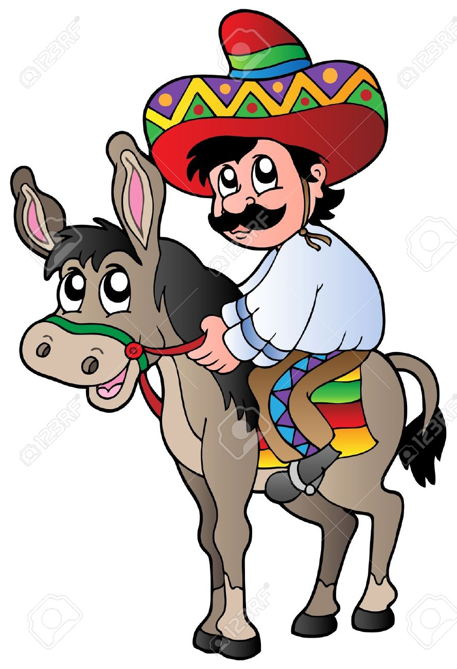 888x1300 Mexican People Clipart Animation