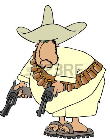 354x450 4,533 Mexican Man Stock Illustrations, Cliparts And Royalty Free