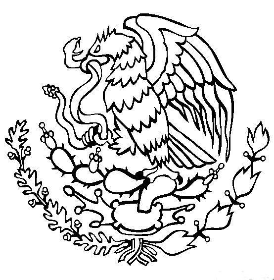 554x565 Mexican Eagle Clipart