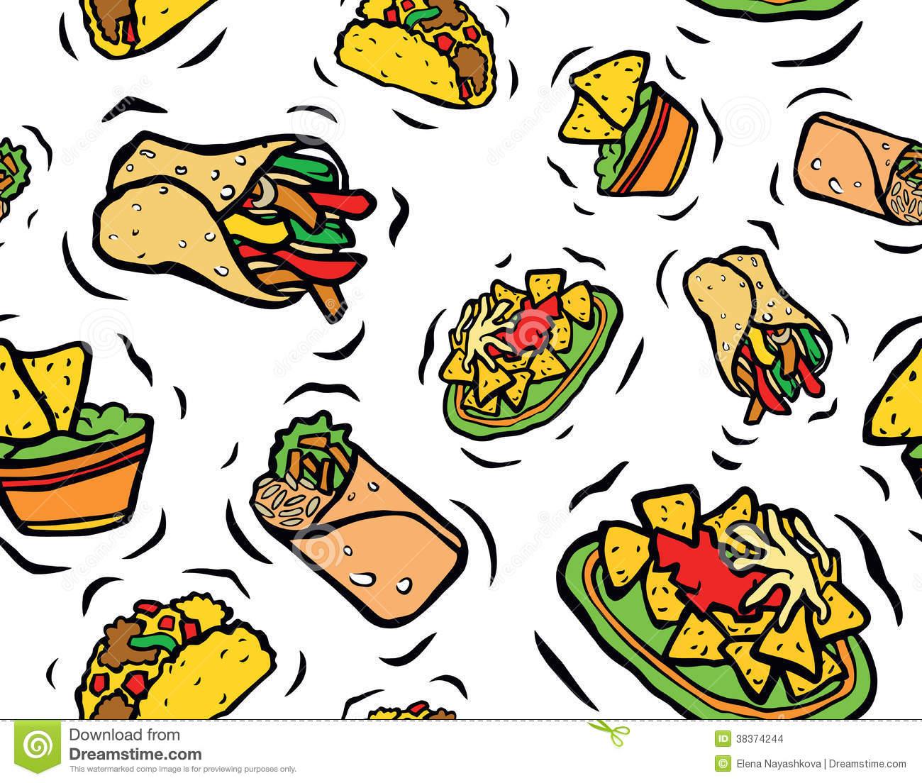 1300x1104 Mexican Food Clip Art