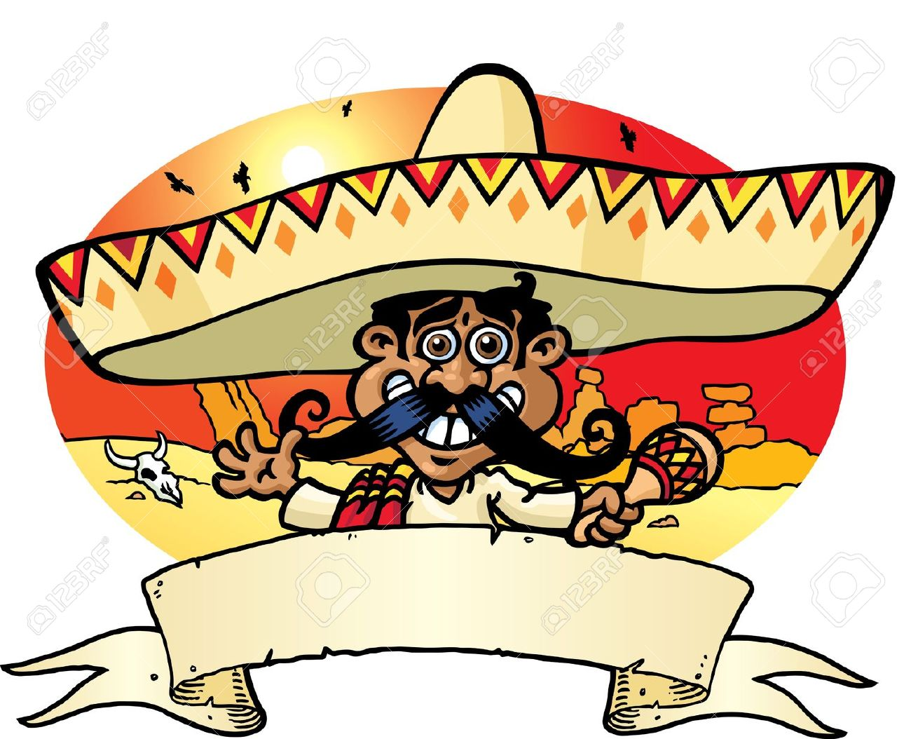 1300x1054 Mexican People Clipart Animation