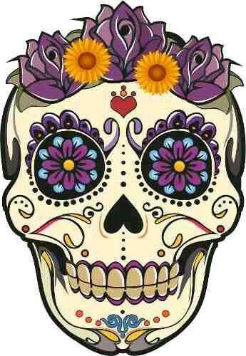 Mexican Skull Clipart