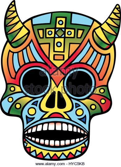 391x540 Day Dead Sugar Skull Illustration Stock Photos Amp Day Dead Sugar