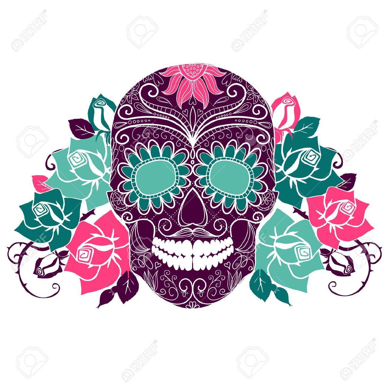 1300x1300 Sugar Skull Clip Art, Free Sugar Skull Clip Art