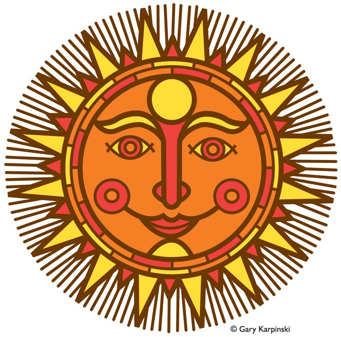 Mexican Sun Clipart   Free download on ClipArtMag