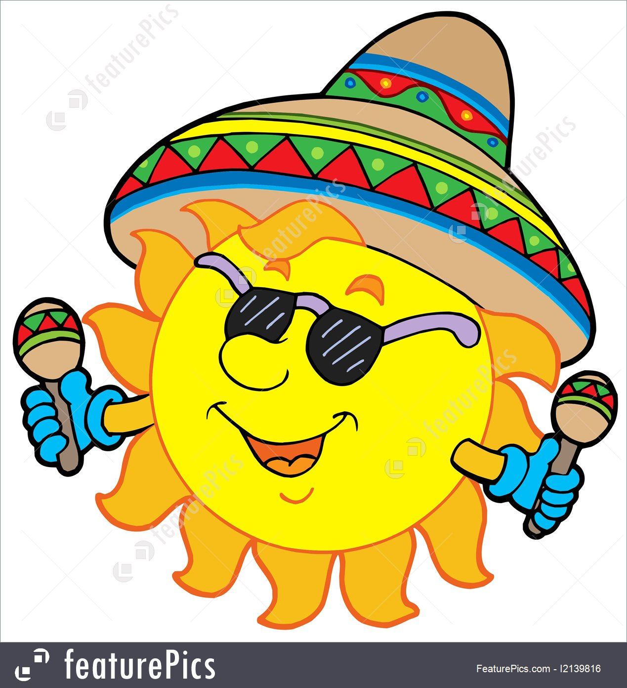 Mexican Sun Clipart   Free download best Mexican Sun Clipart on ...