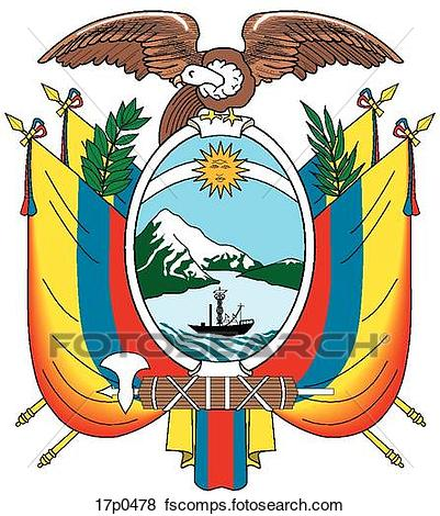 401x470 Clipart Of Mexico Escudo 17p0490