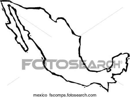 450x341 Clipart Of Mexico Mexico