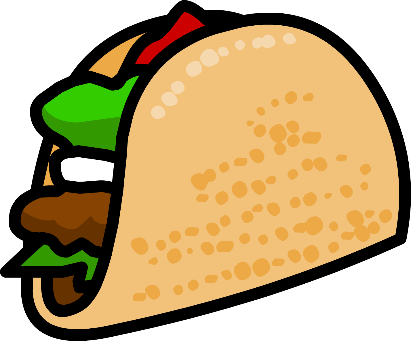 1428x1183 Funny Taco Clip Art Mexican On Two Wheels Image