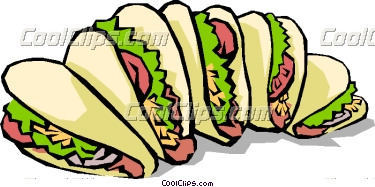 375x187 Taco Party Clip Art
