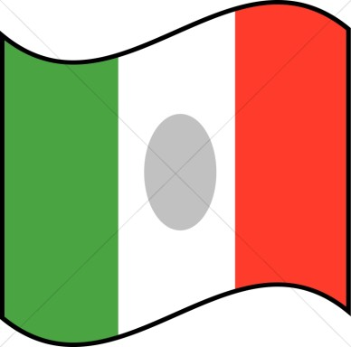 388x384 Us Flag Mexian Flag Clipart