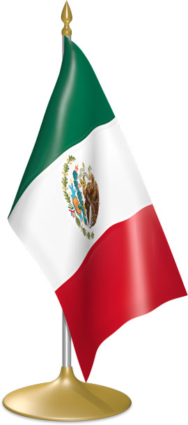 270x609 Flag Icons Of Mexico 3d Flags