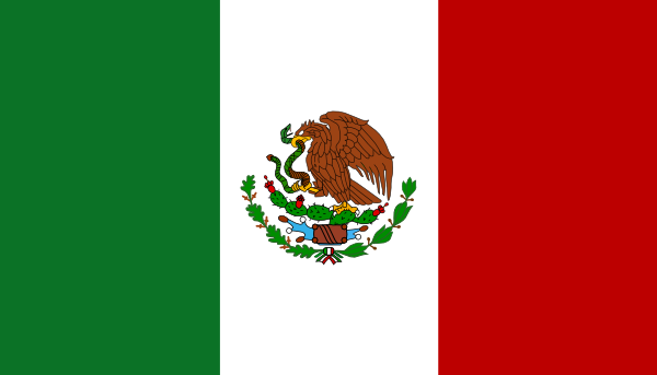 600x343 Flag Of Mexico Clip Art