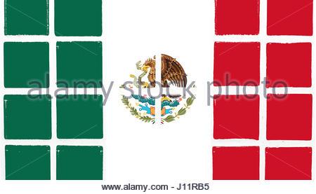 Mexico Flag Clipart