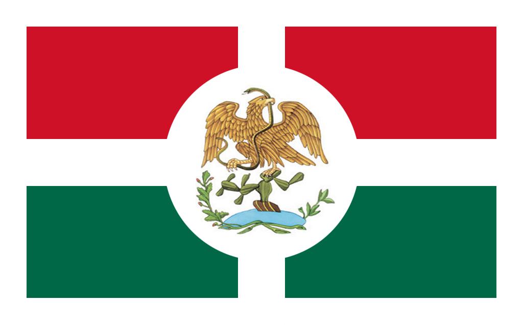 1024x636 Alternate Mexico Flag By Linumhortulanus