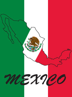 240x320 Mexico Flag Pictures