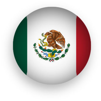 344x345 Free Animated Mexico Flags