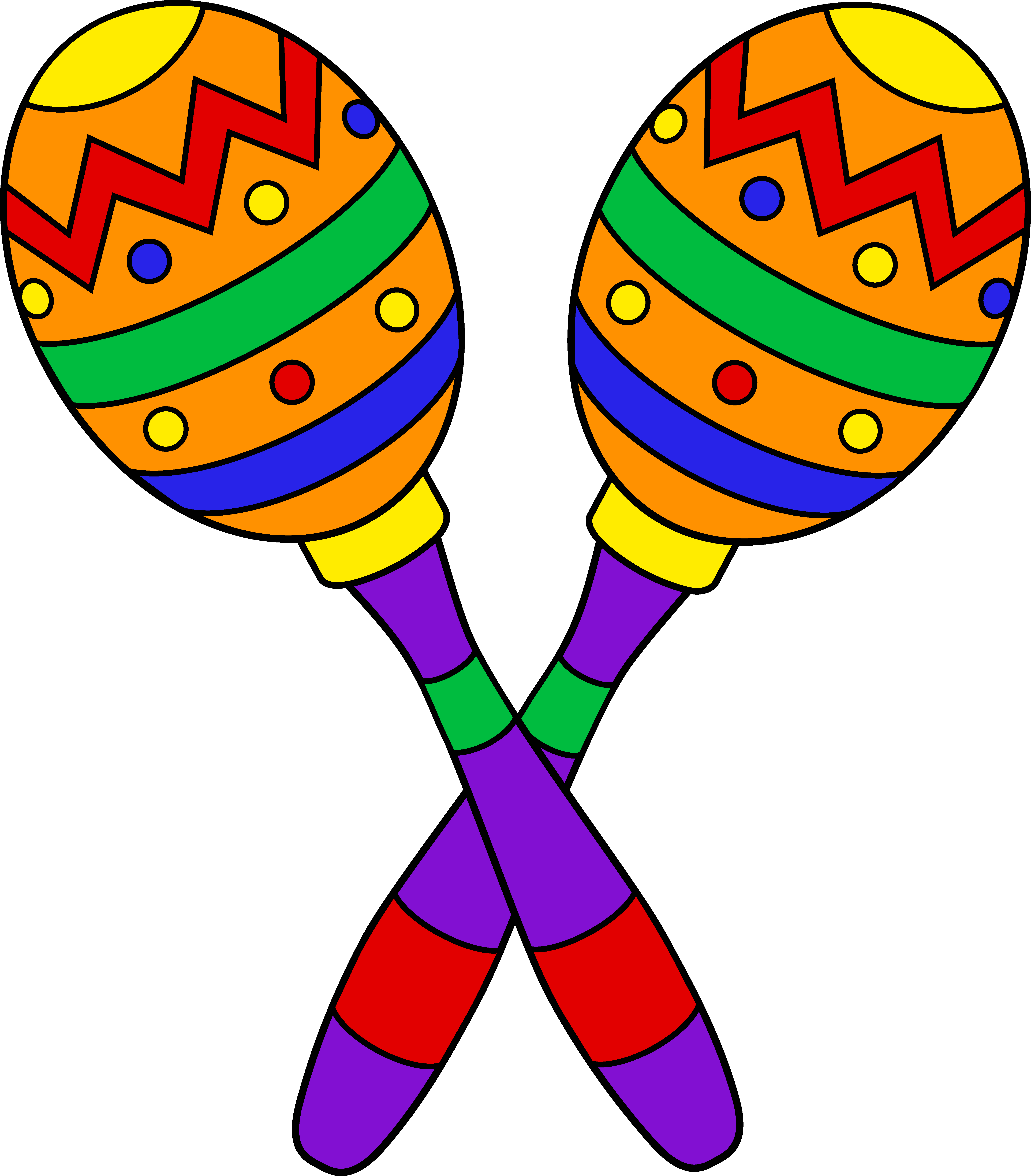 5910x6738 Mexican Clipart